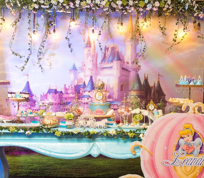 Magical Cinderella Themed Second Birthday Party Pretty