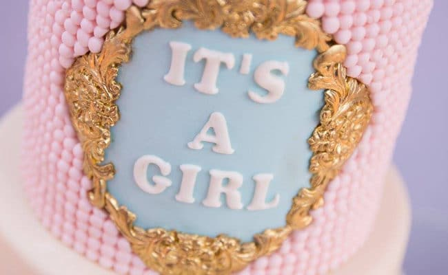 Gorgeous Marie Antoinette Baby Shower