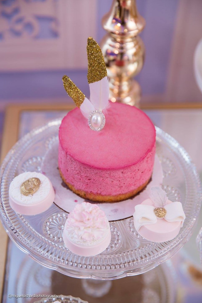 Gorgeous Marie Antoinette Baby Shower Desserts - Pretty My Party