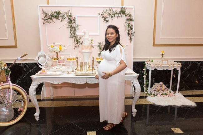 Blush Garden Baby Shower