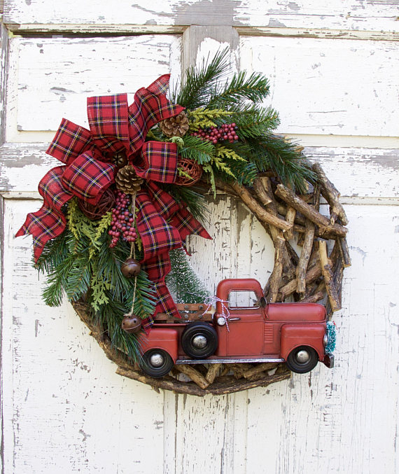 Woodland Christmas Wreath