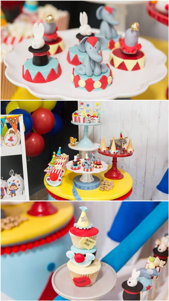 Sweet Circus Birthday Party 1st Birthday Pretty My Party