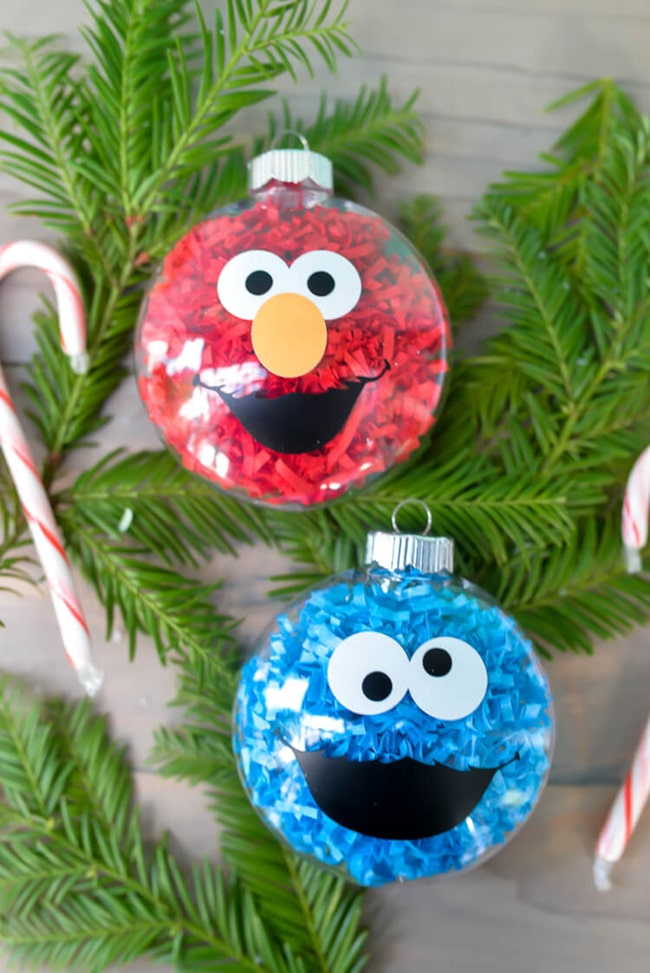 13 Diy Holiday Ornaments Kids Can Make Pretty My Party Party Ideas