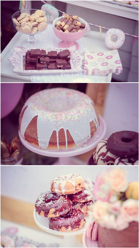 Vintage Donut Birthday Party Desserts