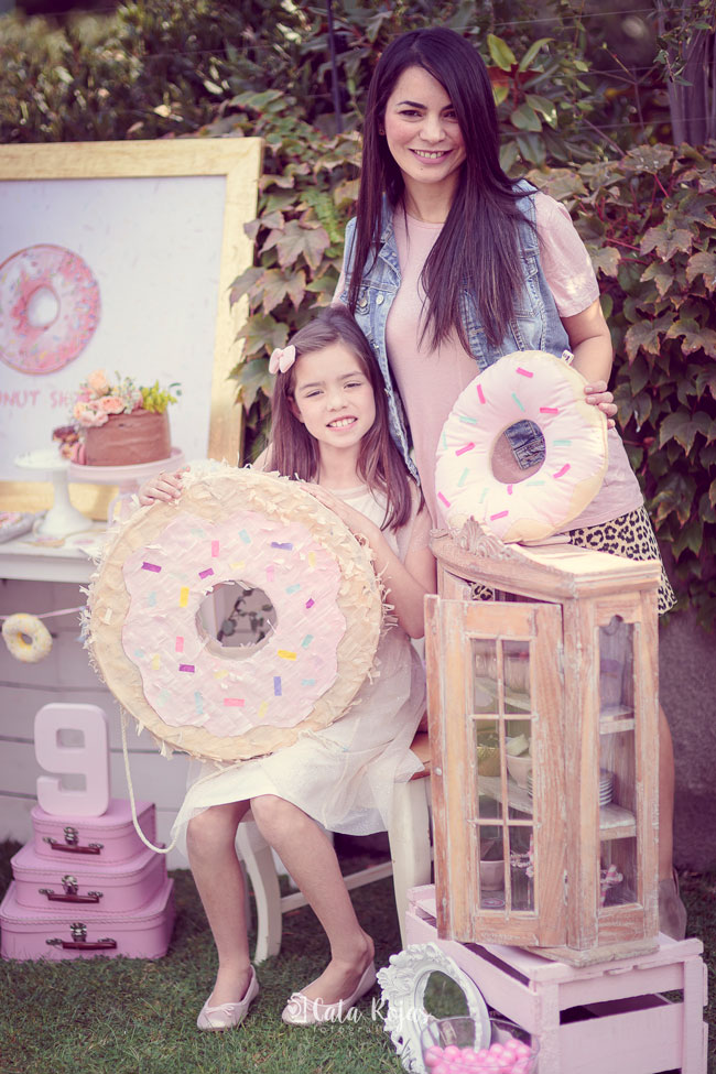 Vintage Donut Birthday Party