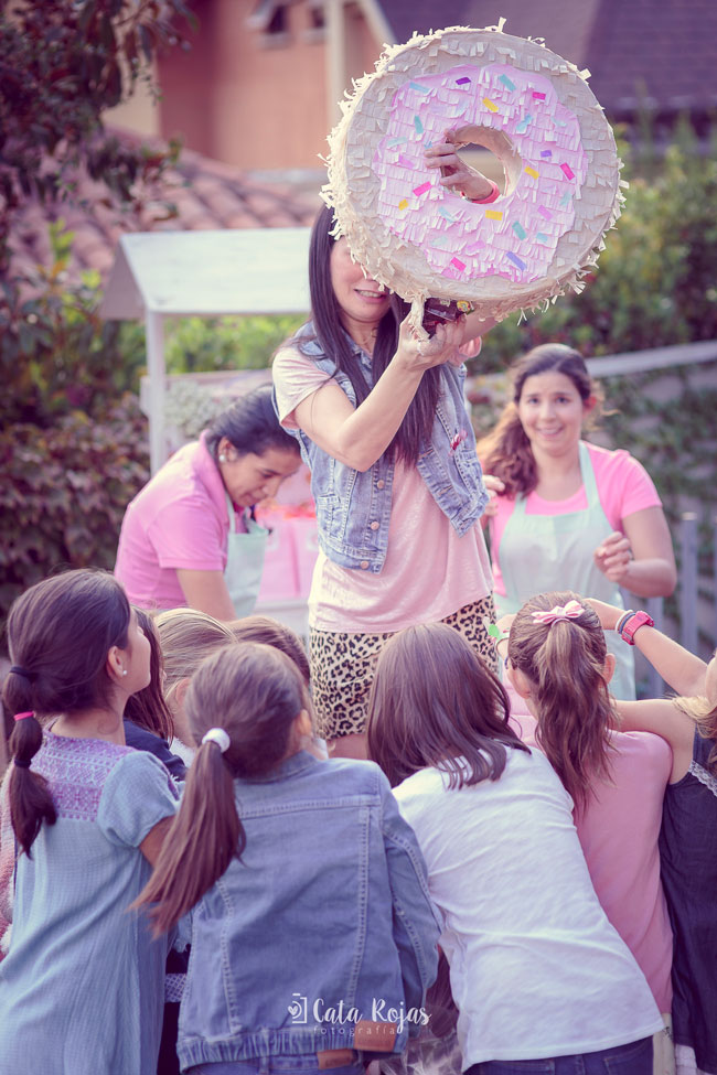 Vintage Donut Birthday Party Piñata