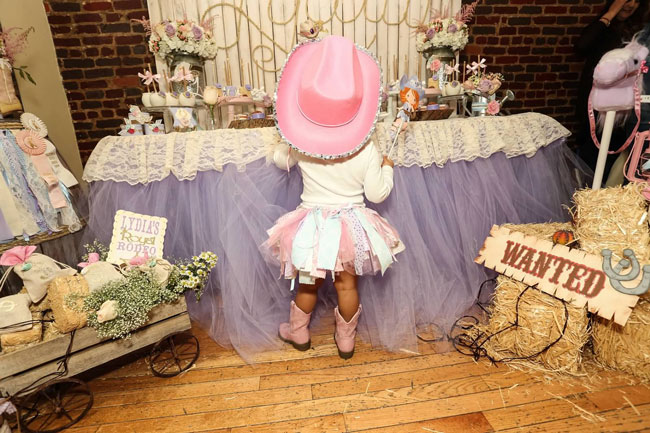 Royal Rodeo Cowgirl Birthday Party