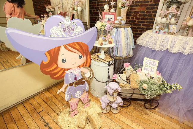 Royal Rodeo Cowgirl Birthday Party - Sofia the First