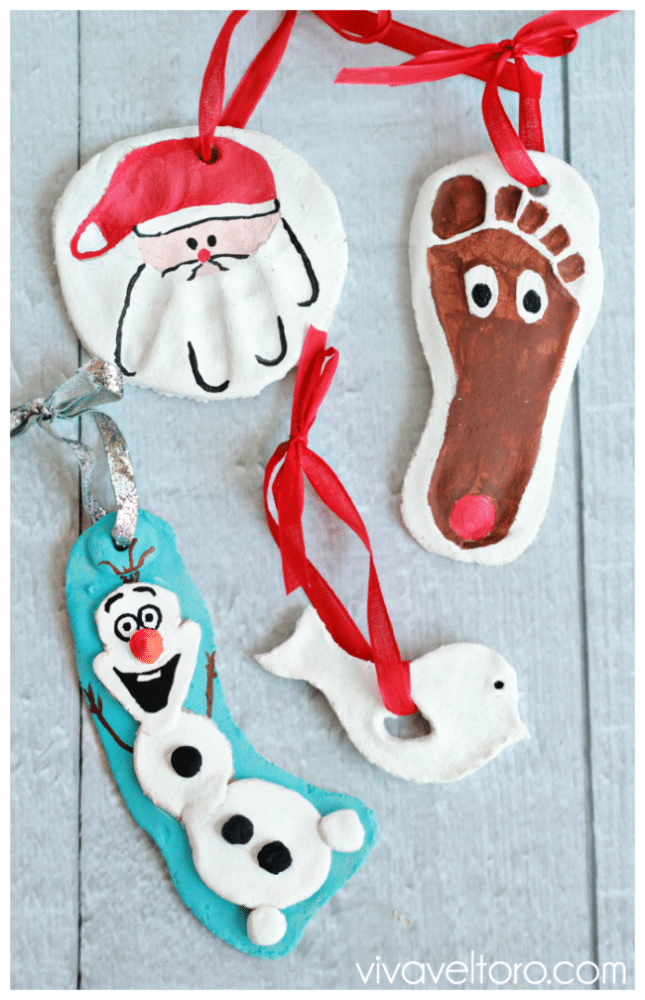 Salt Dough Ornaments - Salt Dough Ornament Recipe