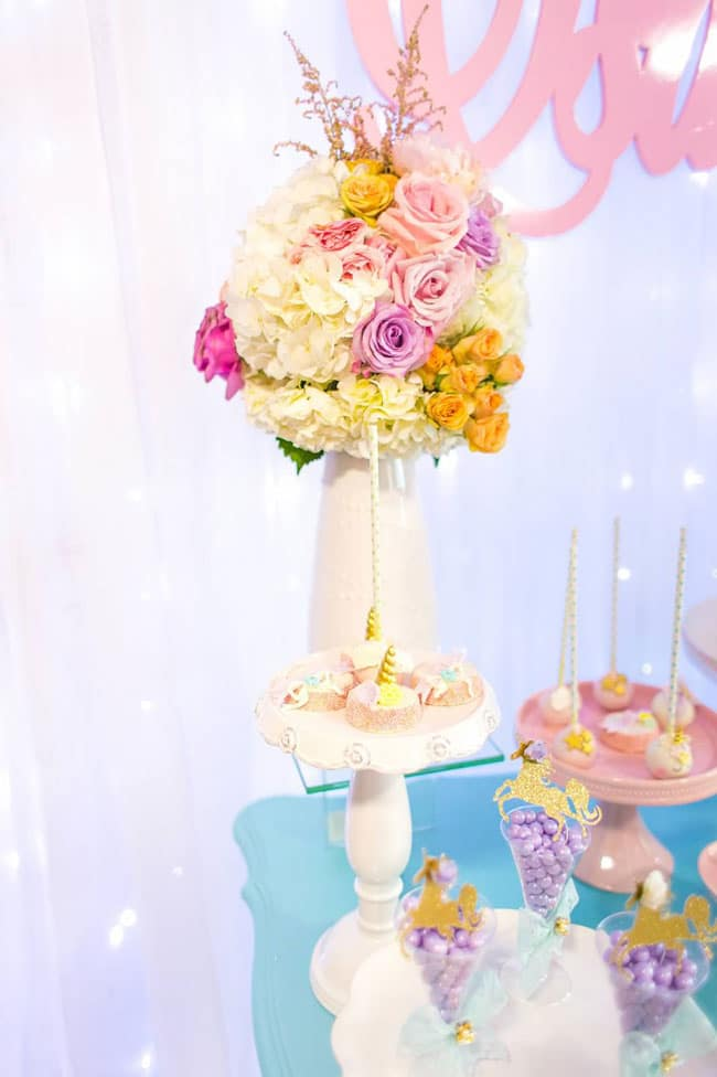 Magical Pastel Unicorn Party 1st Birthday Pretty My Party