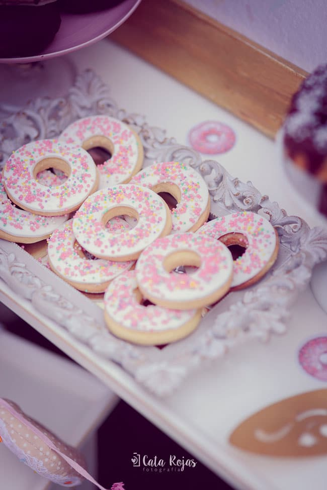 Vintage Donut Birthday Cookies
