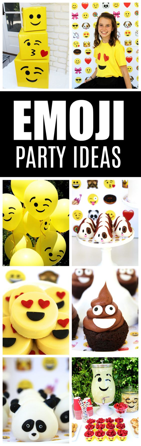 Awesome Emoji Themed 11th Birthday Party - Pretty My Party
