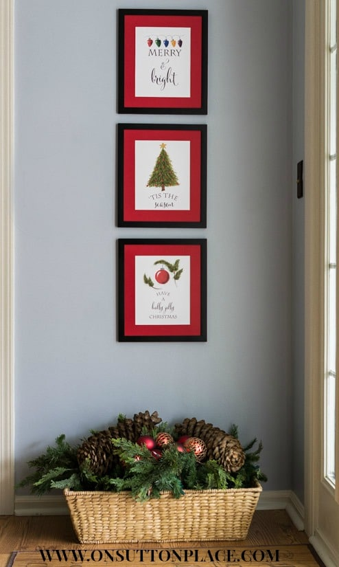 Free Christmas Printable Wall Art