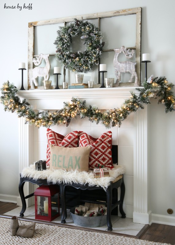 15 Totally Pin-Worthy Holiday Fireplace Mantel Ideas ...