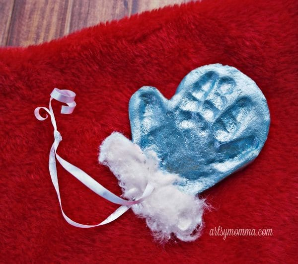 Salt dough mitten keepsake ornament - Salt Dough Ornament Ideas