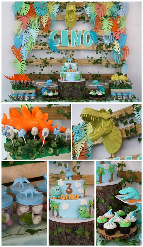 Dinosaur Birthday Party Ideas - Pretty My Party