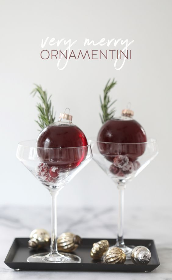 Very Merry Ornamentini for Ugly Sweater Party - 16 Totally Unforgettable Ugly Sweater Party Ideas