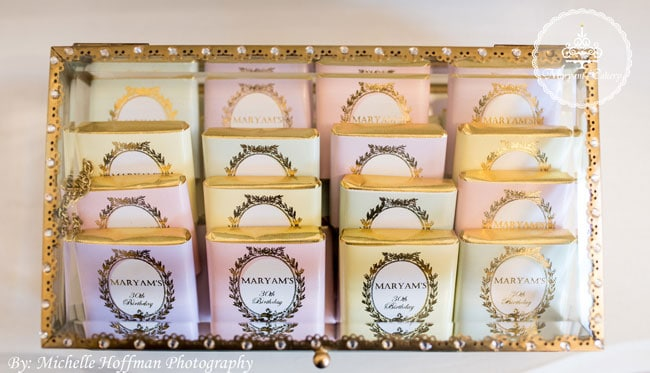 Parisian Tea Party 30th Birthday Party Favors