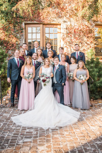Elegant Southern Fall Wedding