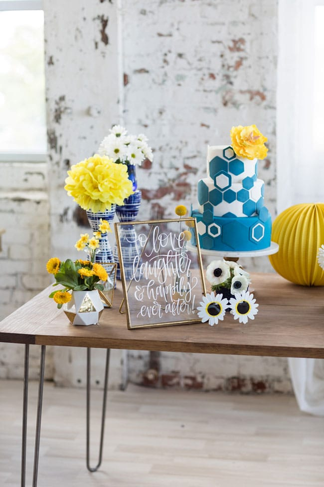 Something Blue Bridal Shower Ideas