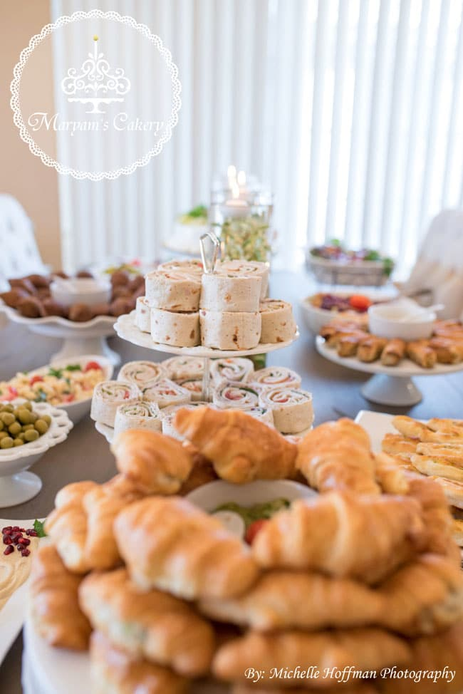Parisian tea party food ideas