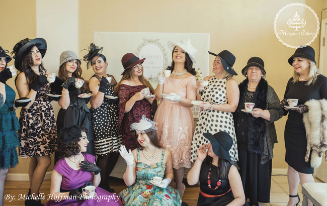French Themed Tea Party Dresses And Hats