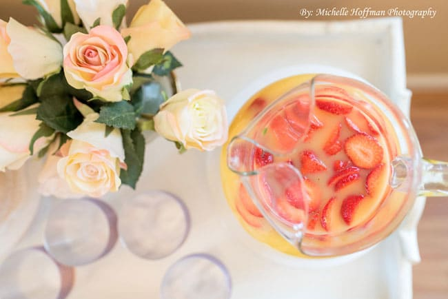 Parisian Tea Party Drinks