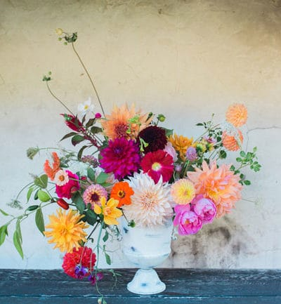 Farm to Table Wedding Anniversary Flowers