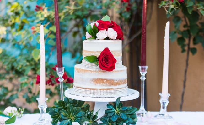 Romantic Tucson Garden Wedding