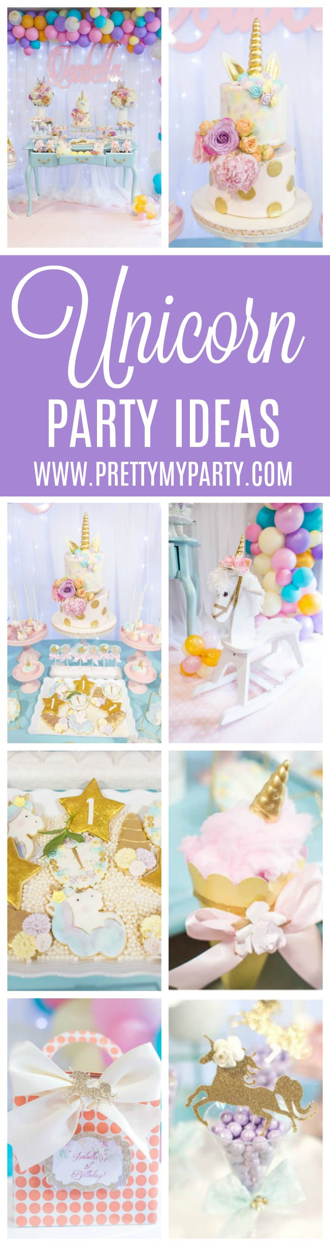 Magical Pastel Unicorn Party - Pretty My Party