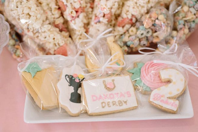 Kentucky Derby Party Cookies