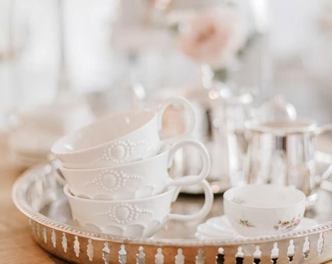 Parisian Tea Party Tea Cups
