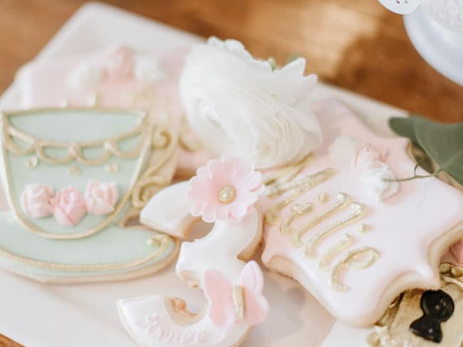 Children's Tea Party Cookies