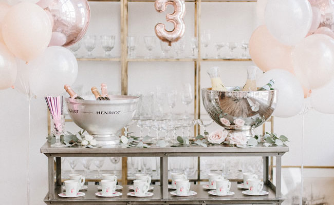 Parisian Tea Party Third Birthday