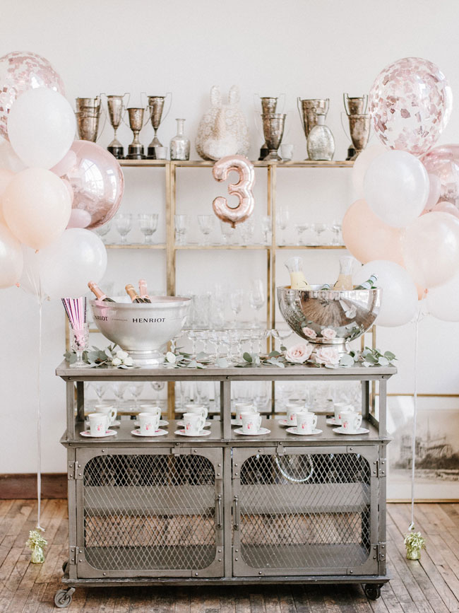 Parisian Tea Party Third Birthday - Pretty My Party