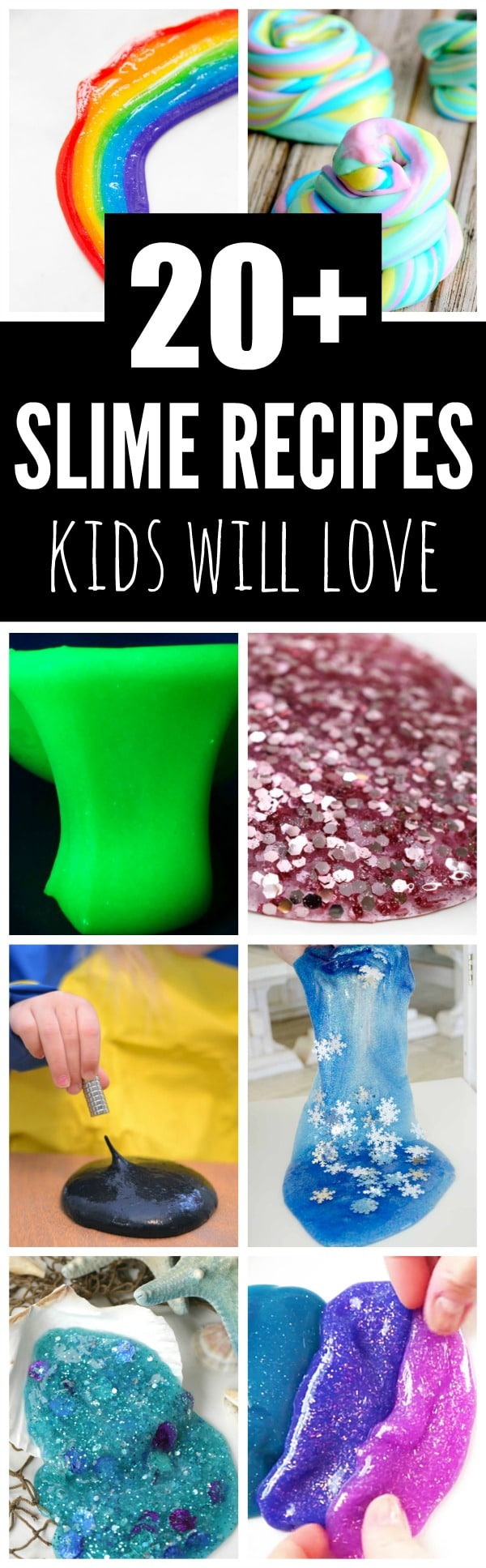 Homemade Slime Recipes Kids Will Love - Pretty My Party