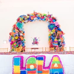 Colorful Fiesta Theme Quinceanera