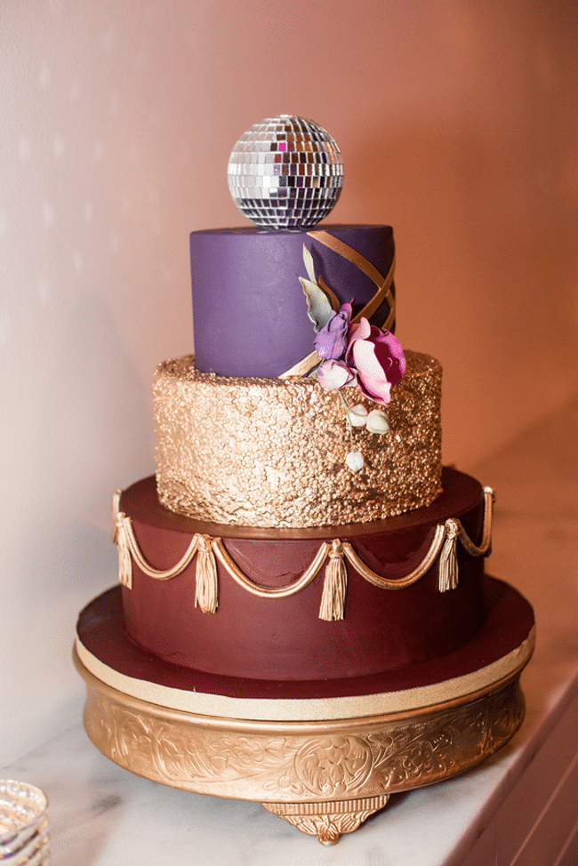 Purple Glam 40th Birthday Party Ideas Pretty My Party