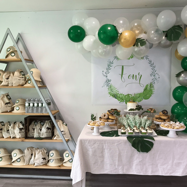 Modern Jungle Theme Party