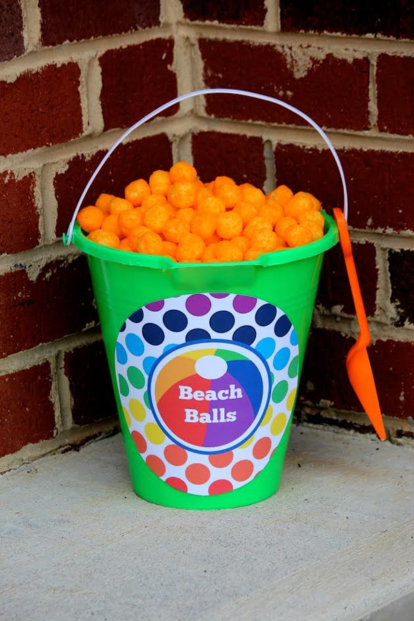 Beach Balls - Pool Party Ideas