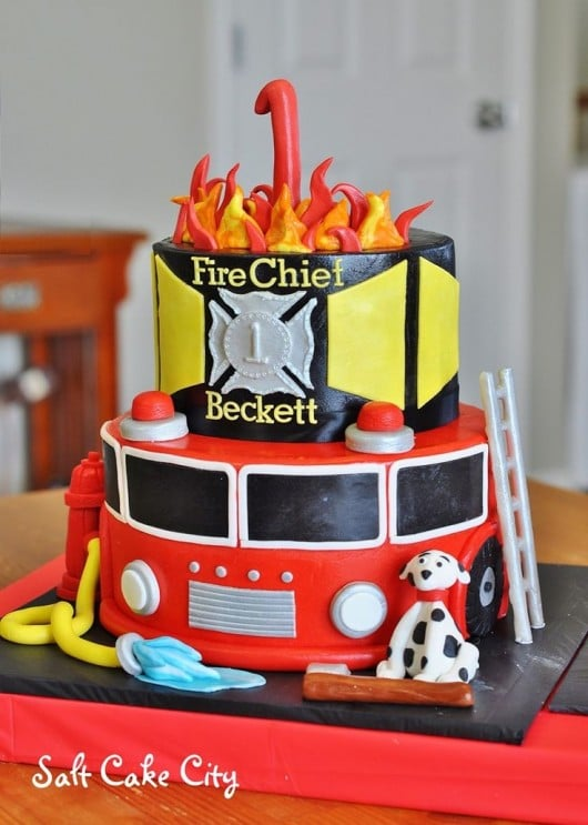 Best Fireman Birthday Party Ideas For Boys
