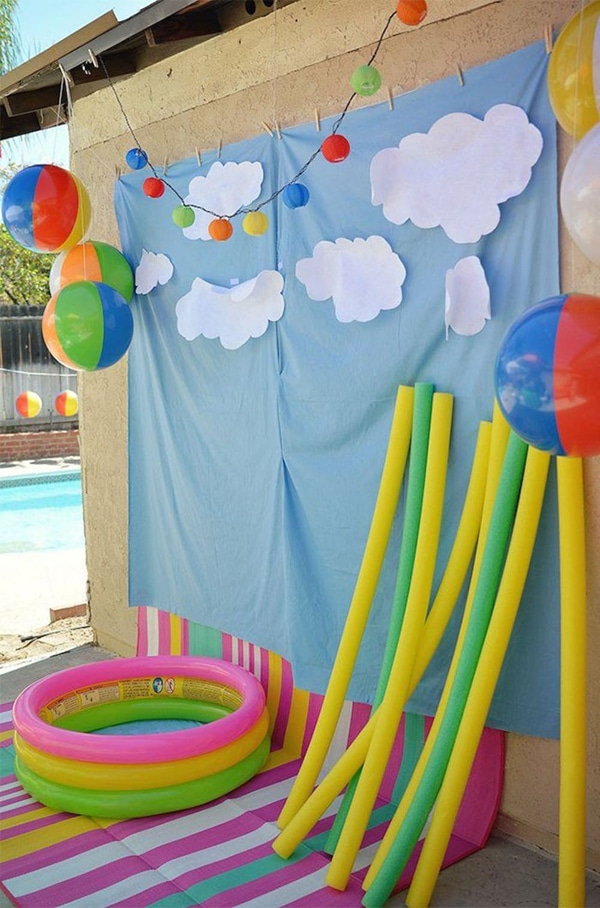 Pool Party Photo Booth