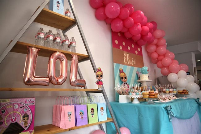 Adorable Lol Surprise Birthday Party Pretty My Party