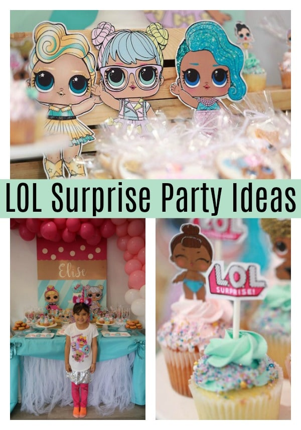 LOL Surprise Birthday Party Ideas - Pretty My Party