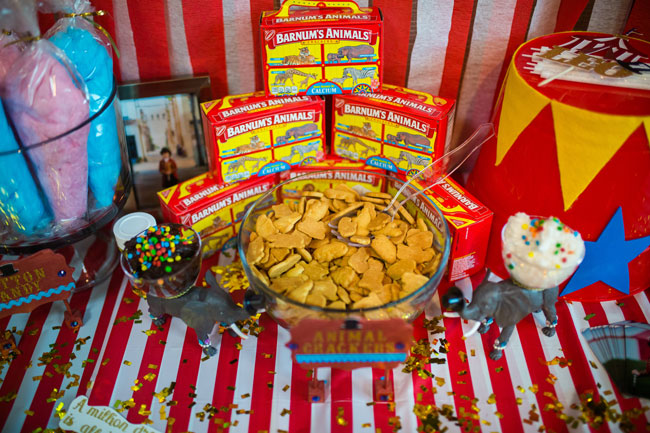 Circus Theme Party Animal Crackers