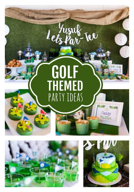 Golf Themed 3rd Birthday Party - Pretty My Party