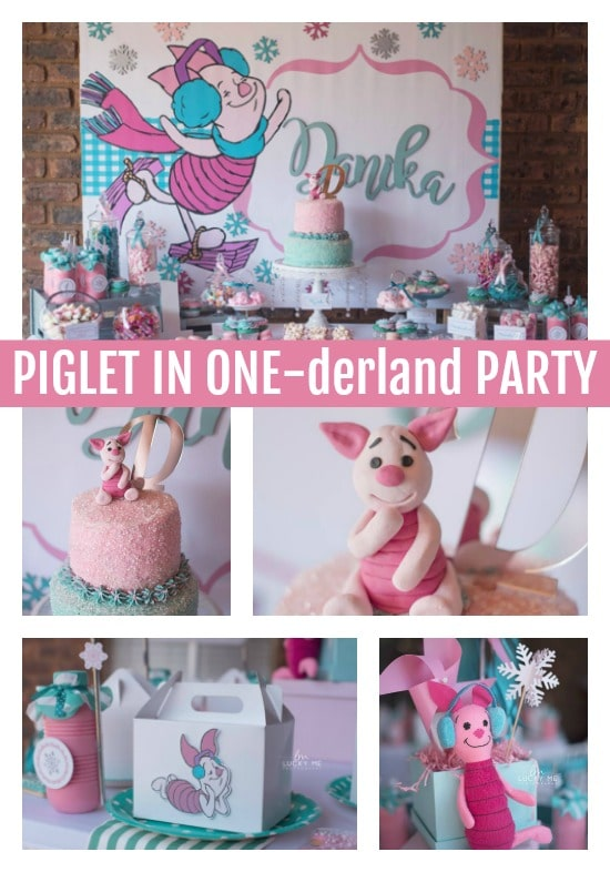 Adorable Piglet In Onederland 1st Birthday Party - Pretty My Party