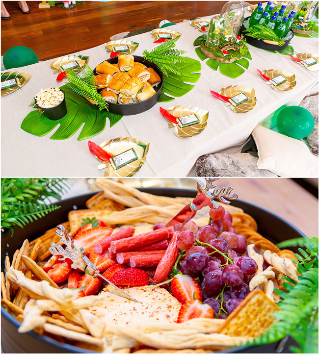 Peter Pan in Neverland First Birthday Party Food