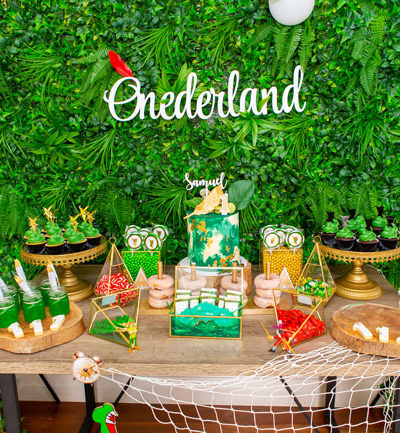 Peter Pan in Neverland First Birthday Party