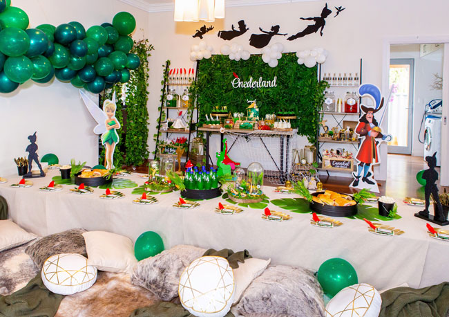 Peter Pan in Neverland First Birthday Party Decorations